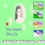 4 mevsim kız giydir