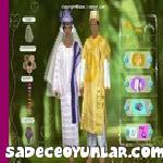 Afrika Çifti Giydirme