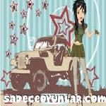 Asker kız giydir