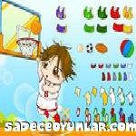 Basketci Kız Giydirme