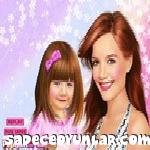 Katie ve Suri Cruise makyaj