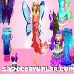 Kelebek Barbie Giydir