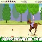 Kız At sürücü