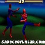 Örümcek adam dövüşü