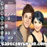 Selena Gomez ve David Henrie makyaj